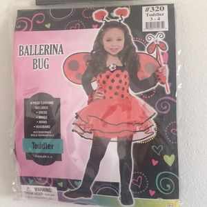 Cute Ballerina/ Lady Bug costume